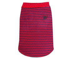 The Sidney - Red/Navy Stripe