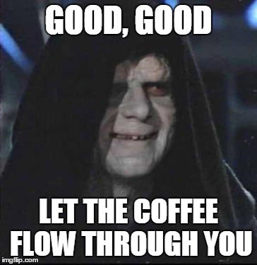 Coffee Meme with Star Wars