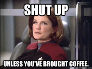 Coffee Meme by Star Trek lady