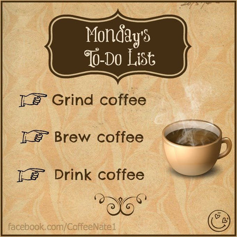 Coffee Meme about Mondays