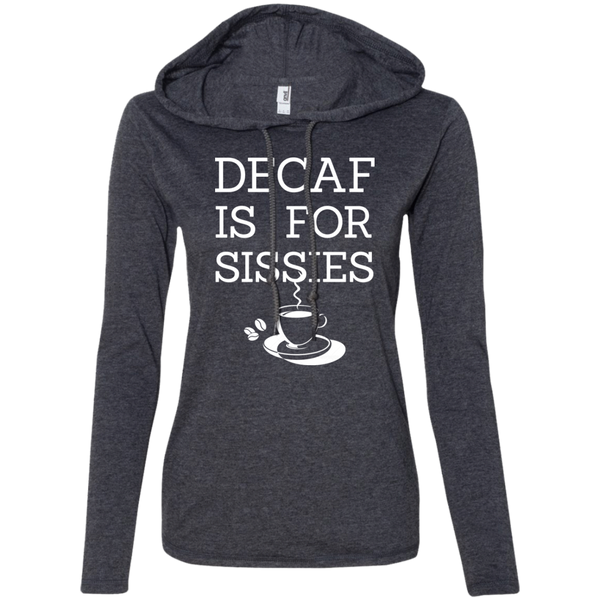 Decaf Is For Sissies, Apparel, CustomCat, Viper Coffee