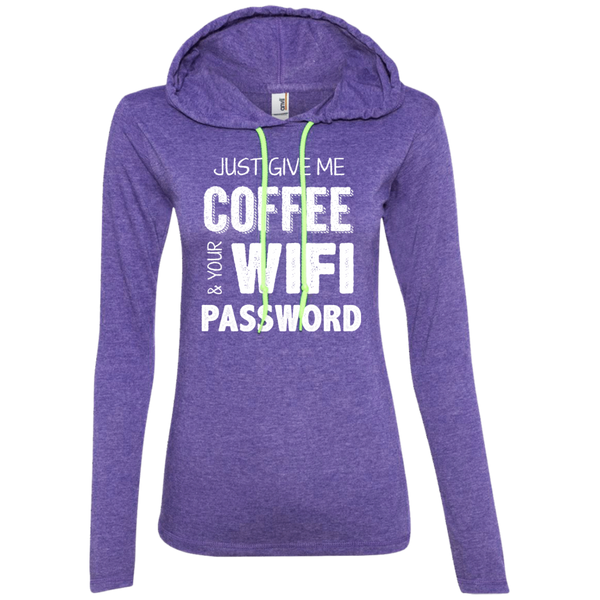 Just Give Me Coffee And Your Wifi Password