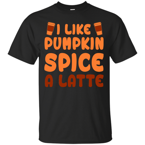 I Like Pumpkin Spice A Latte, Apparel, CustomCat, Viper Coffee