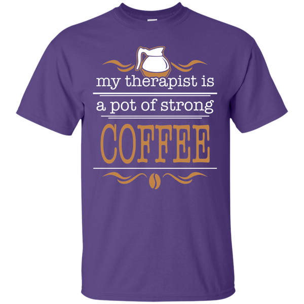 My Therapist Is Coffee, Apparel, CustomCat, Viper Coffee