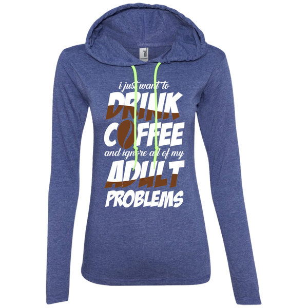 I Just Want To Drink Coffee And Ignore All My Adult Problems, Apparel, CustomCat, Viper Coffee