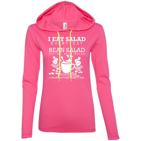 I Eat Salad Everyday, Apparel, CustomCat, Viper Coffee