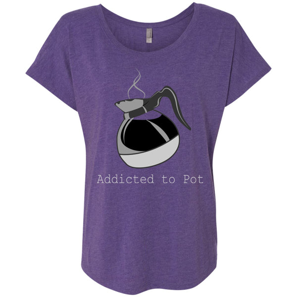 Addicted To Pot, Apparel, CustomCat, Viper Coffee