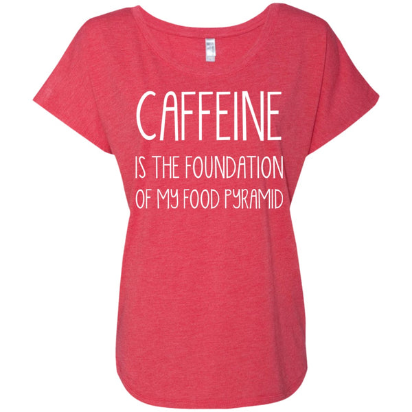 Caffeine Is The Foundation Of My Food Pyramid Shirt, Apparel, CustomCat, Viper Coffee