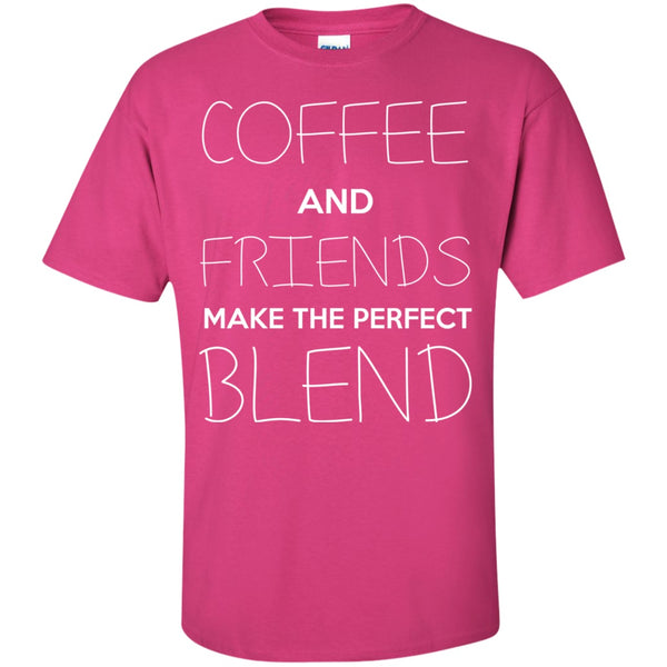 Coffee And Friends Make The Perfect Blend, Apparel, CustomCat, Viper Coffee
