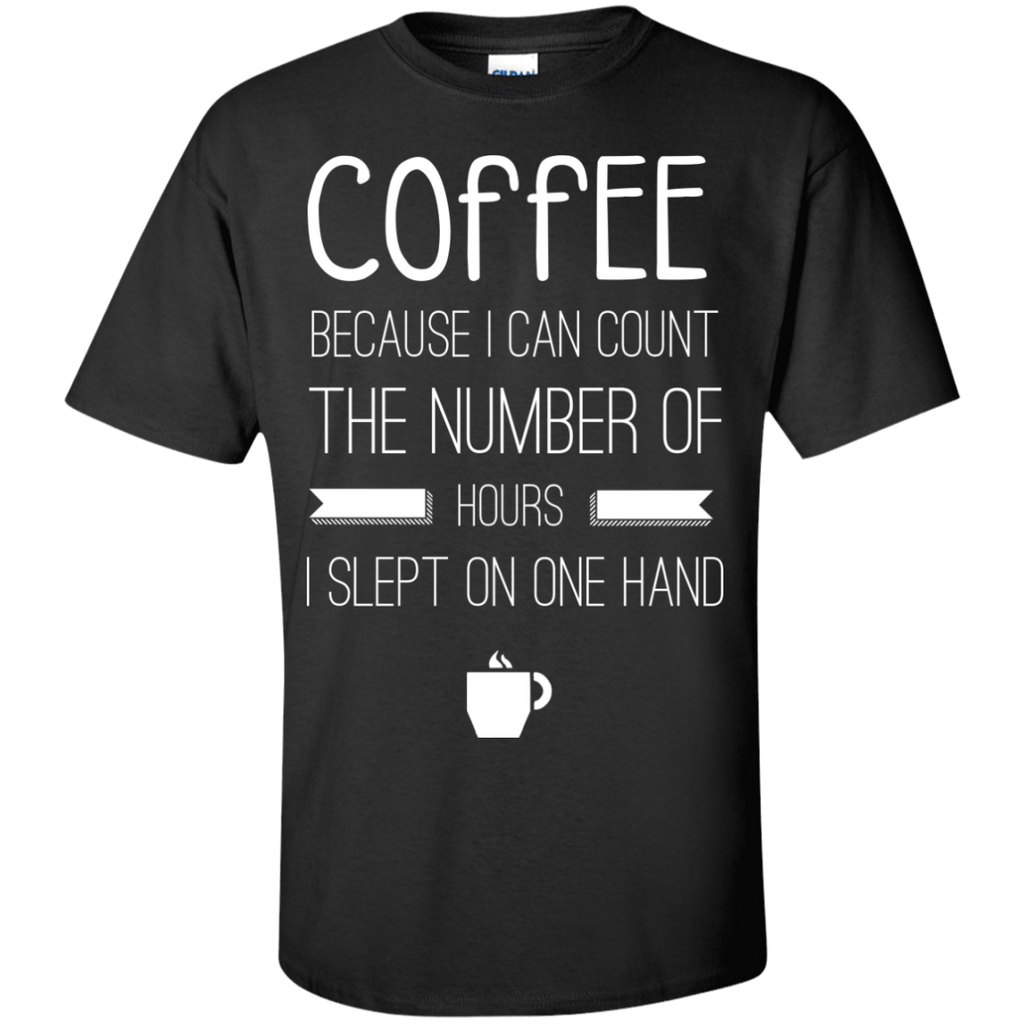 Coffee Because I Don't Sleep Enough Shirt, Apparel, CustomCat, Viper Coffee