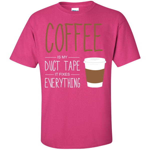 Coffee Fixes Everything, Apparel, CustomCat, Viper Coffee