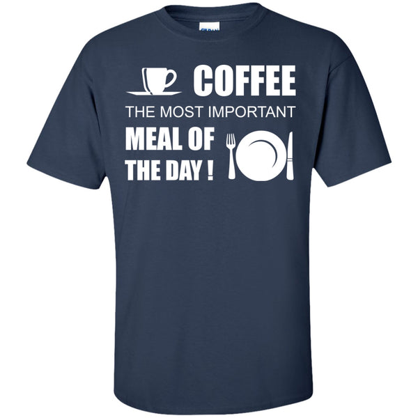 Coffee Is The Most Important Meal Of The Day, Apparel, CustomCat, Viper Coffee