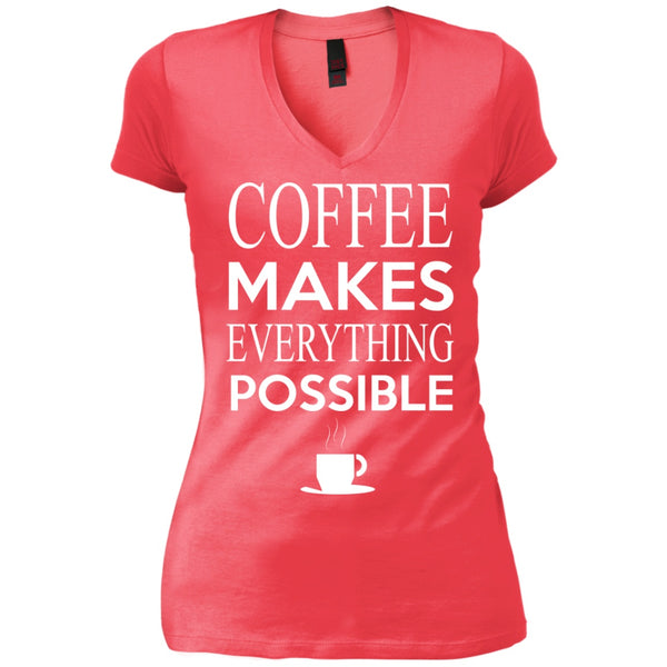Coffee Makes Everything Possible, Apparel, CustomCat, Viper Coffee