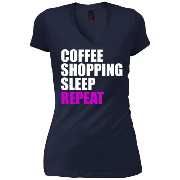 Apparel - Coffee, Shopping, Sleep, Repeat