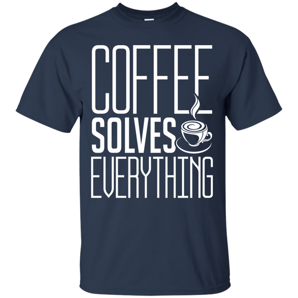Coffee Solves Everything, Apparel, CustomCat, Viper Coffee