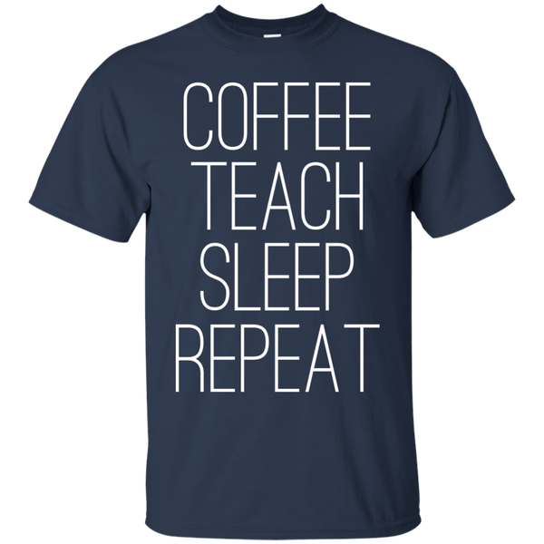 Coffee, Teach, Sleep, Repeat, Apparel, CustomCat, Viper Coffee