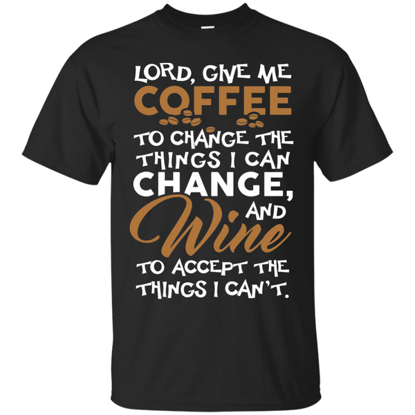 Coffee To Change Wine To Accept, Apparel, CustomCat, Viper Coffee