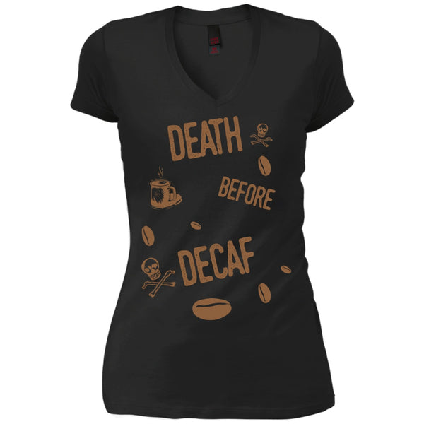 Death Before Decaf!, Apparel, CustomCat, Viper Coffee