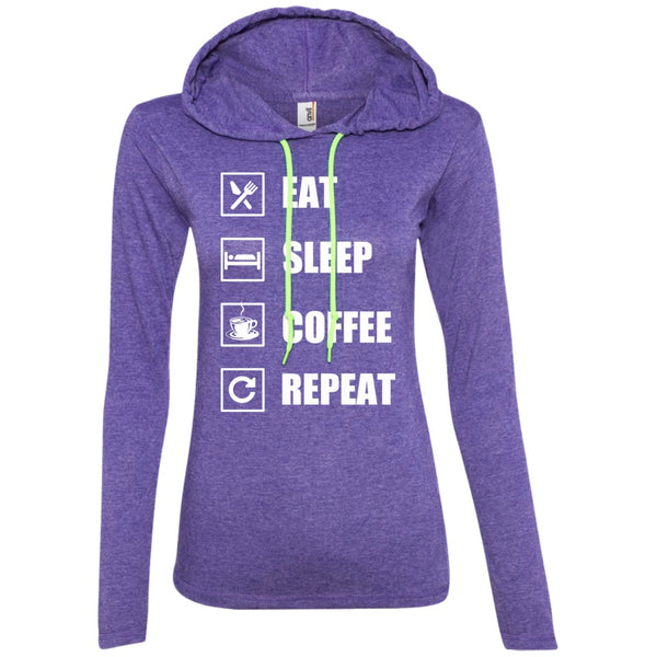 Eat, Sleep, Coffee, Repeat, Apparel, CustomCat, Viper Coffee