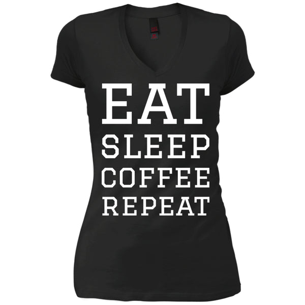 Apparel - Eat Sleep Coffee Repeat Shirt