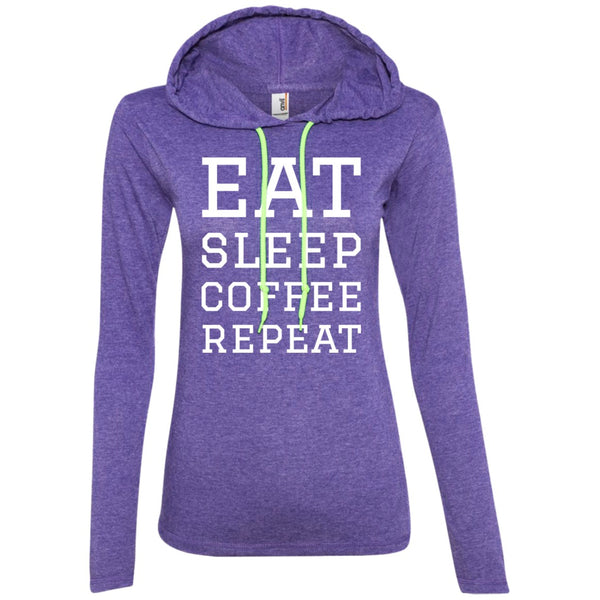 Eat Sleep Coffee Repeat Shirt, Apparel, CustomCat, Viper Coffee