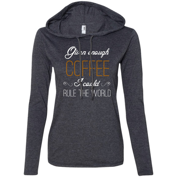 Given Enough Coffee I Could Rule The World, Apparel, CustomCat, Viper Coffee