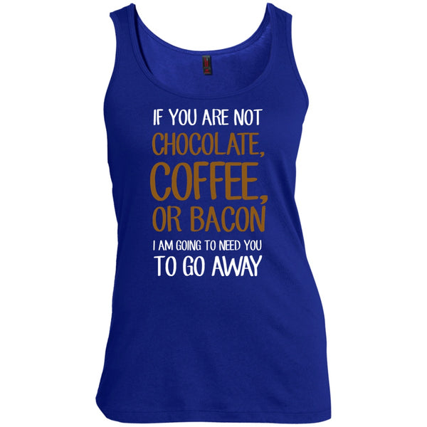 Go Away If Your Not Coffee, Chocolate, Or Bacon, Apparel, CustomCat, Viper Coffee