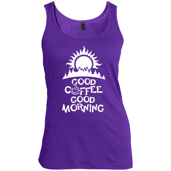 Good Coffee Good Morning, Apparel, CustomCat, Viper Coffee