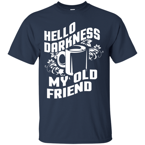 Hello Darkness, Apparel, CustomCat, Viper Coffee