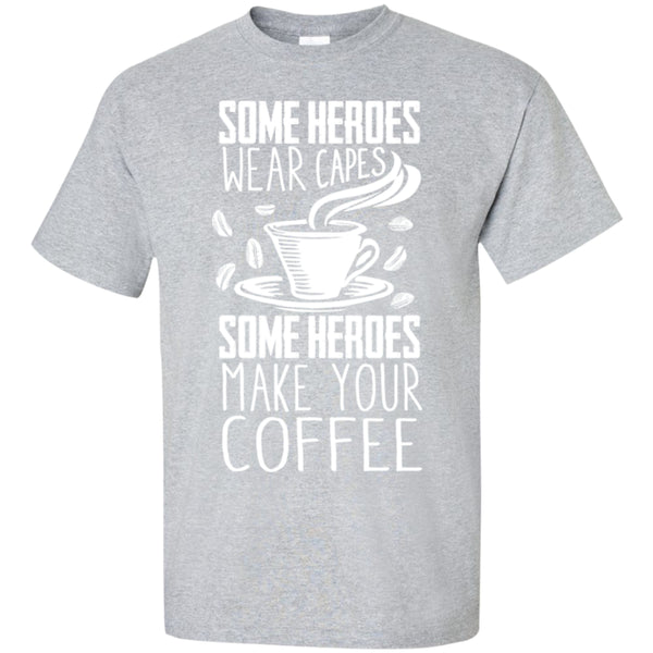 Heroes Make Me Coffee!, Apparel, CustomCat, Viper Coffee
