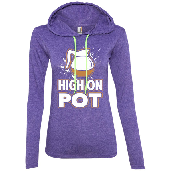 High On Pot, Apparel, CustomCat, Viper Coffee