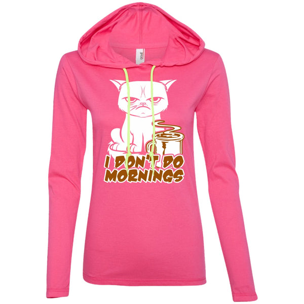 I Don't Do Mornings, Apparel, CustomCat, Viper Coffee