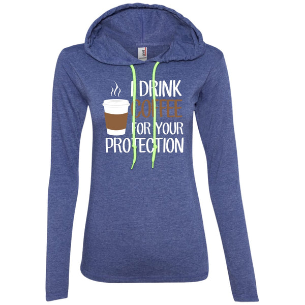 I Drink Coffee For Your Protection, Apparel, CustomCat, Viper Coffee