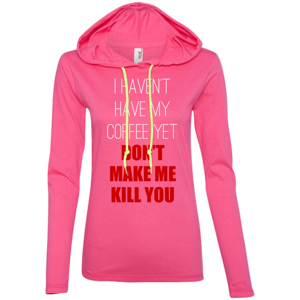 I Haven't Had My Coffee Yet... Don't Make Me Kill You!, Apparel, CustomCat, Viper Coffee