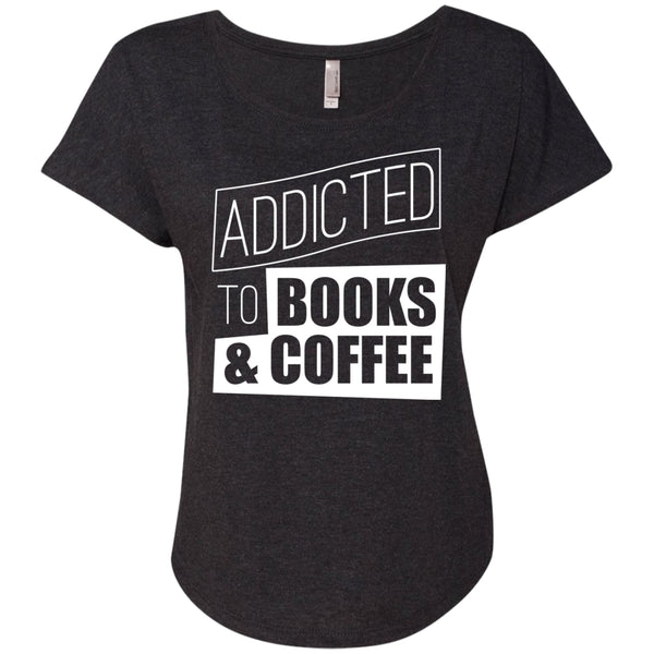 I'm Addicted To Books & Coffee, Apparel, CustomCat, Viper Coffee