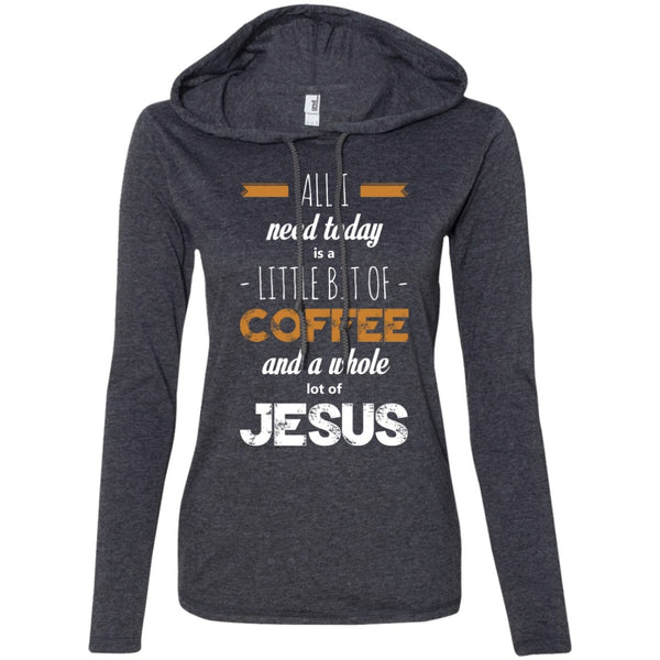 I Need A Bit Of Coffee & A Lot Of JESUS!, Apparel, CustomCat, Viper Coffee