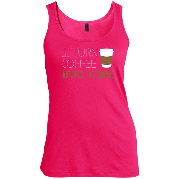 I Turn Coffee Into Code, Apparel, CustomCat, Viper Coffee
