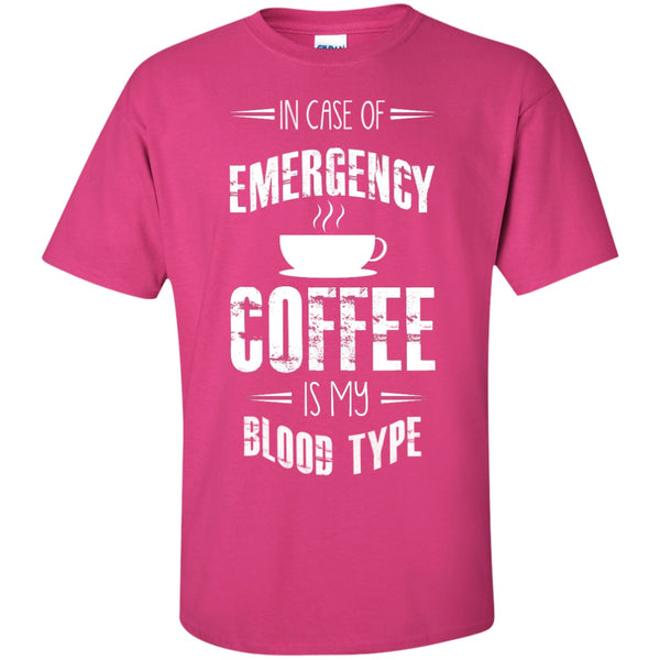 In Case Of Emergency Coffee Is My Blood Type, Apparel, CustomCat, Viper Coffee