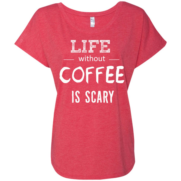 Life Without Coffee Is Scary, Apparel, CustomCat, Viper Coffee