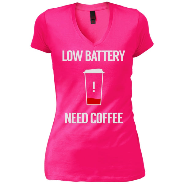 Low Battery Need Coffee, Apparel, CustomCat, Viper Coffee