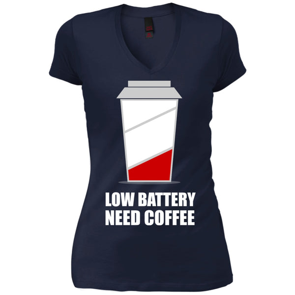 Apparel - Low Battery Need Coffee Shirt