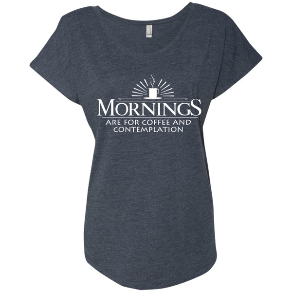 Mornings Are For Coffee & Contemplation, Apparel, CustomCat, Viper Coffee