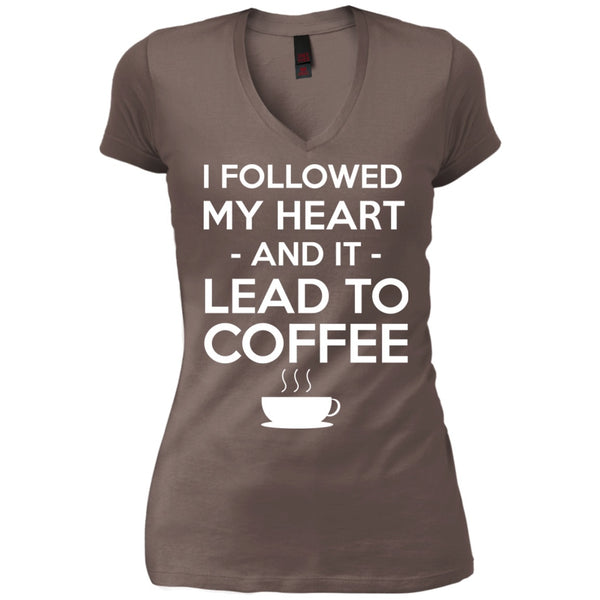 My Heart Lead To Coffee, Apparel, CustomCat, Viper Coffee
