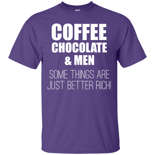 Some Things Are Better Rich, Apparel, CustomCat, Viper Coffee