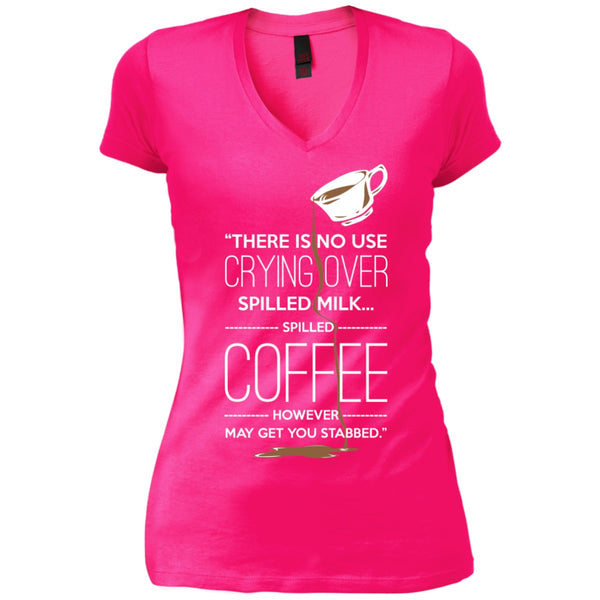 There's No Use Crying Over Spilled Milk... Spilled Coffee However May Get You Killed, Apparel, CustomCat, Viper Coffee