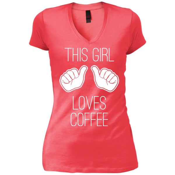 This Girl Loves Coffee, Apparel, CustomCat, Viper Coffee