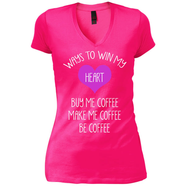 Apparel - Win My Heart By Making Me Coffee