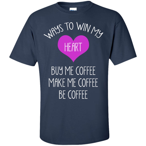 Win My Heart By Making Me Coffee, Apparel, CustomCat, Viper Coffee