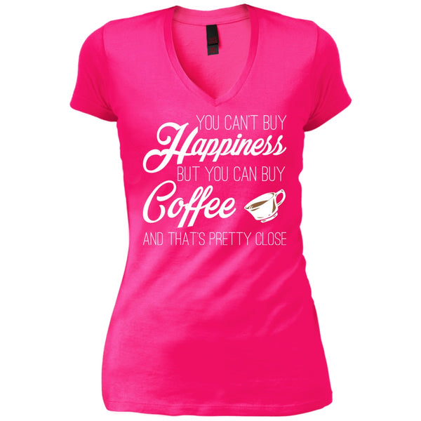 You Can't Buy Happiness But You Can Buy Coffee, Apparel, CustomCat, Viper Coffee