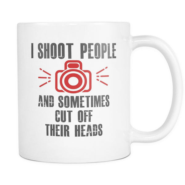 I Shoot People, Drinkware, teelaunch, Viper Coffee
